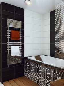 Black-white-mosaic-bathroom-tile-665x888