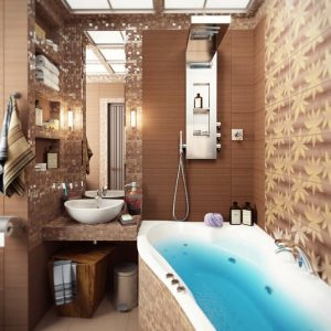 Brown-mosaic-bathroom-tile-665x665
