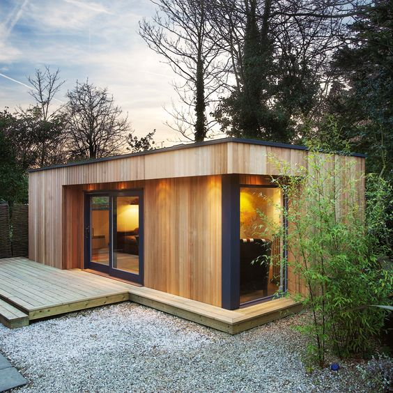 22 Beautiful Wood Cabins And Small House Designs For Diy: შეთავაზება: თანამედროვე კოტეჯები » Planetp.ge