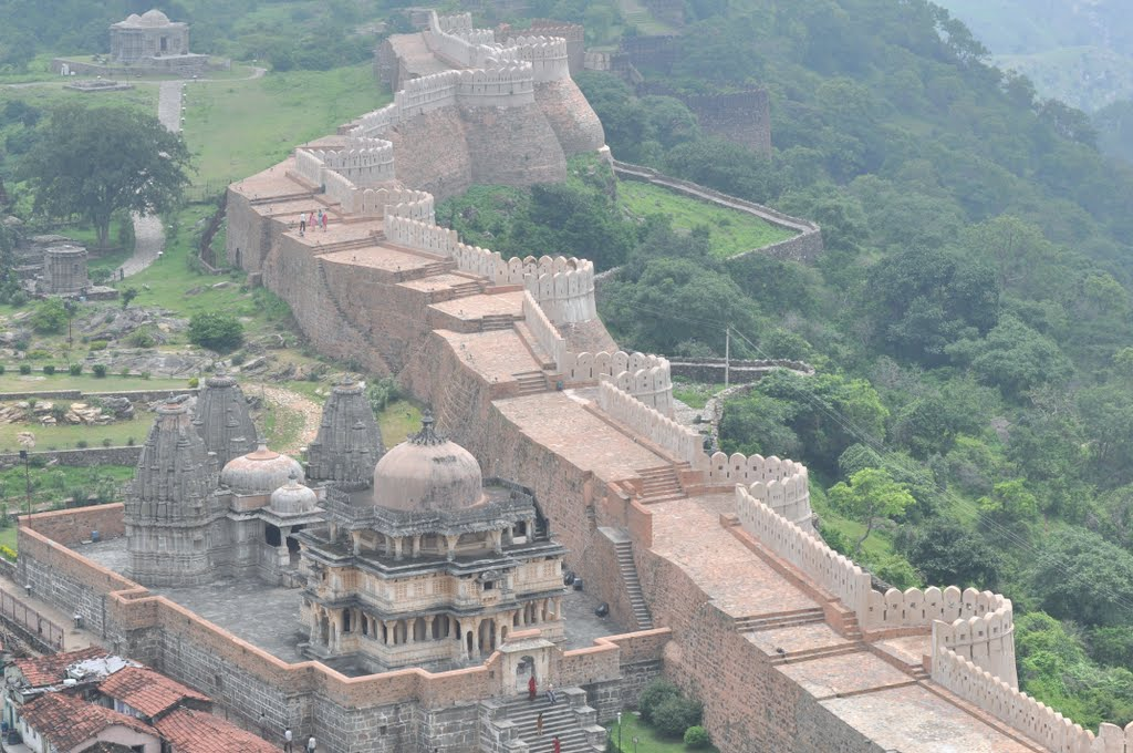 Kumbhalgarh-Fort-Wall