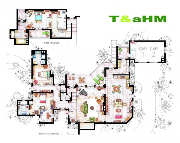 Two-and-a-Half-Men-Floor-Plans-600x477