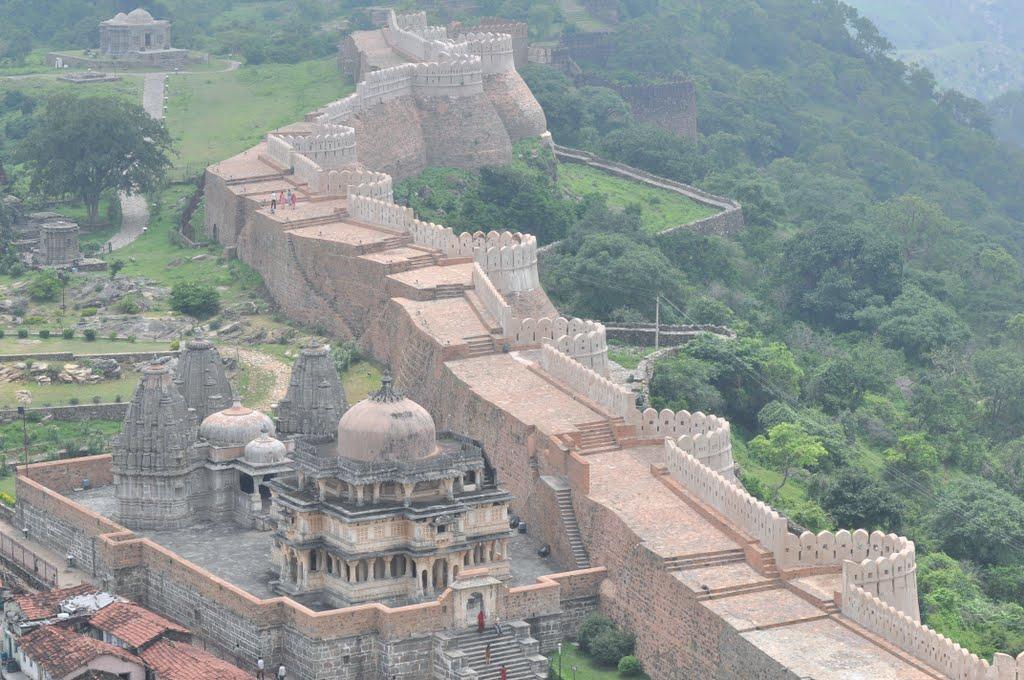 Kumbhalgarh-Fort-Wall